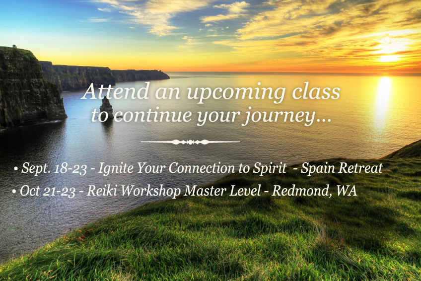 Attend an upcoming class to continue your journey...